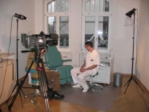 Dreharbeiten für MDR Fernsehsendung