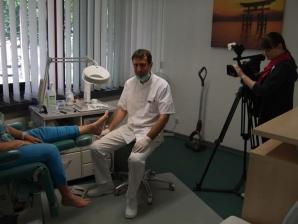 Dreharbeiten am 22.05.2015 mit dem Team von Leipzig Fernsehen